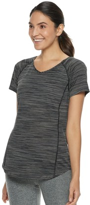 Tek Gear Women's Base-Layer V-Neck Tee