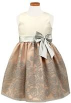 Sorbet Toddler Girl's Glitter Party Dress