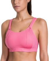 SYROKAN Women's Wire Free Lightly Padded High Impact Full Support Sports Bra