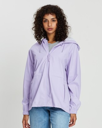 Rains Women's Purple Jackets - W Jacket - Size One Size, XXS/XS at The Iconic