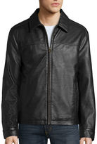 Dockers Faux Leather Laydown Collar