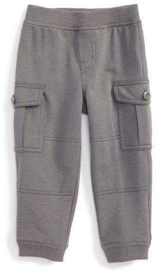 Tea Collection Infant Boy's Ready To Roll Cargo Pants