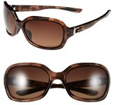 Oakley Women's 'Pulse' 61Mm Polarized Sunglasses - Tortoise