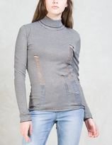 Cheap Monday Scrap Srtipe Knit Sweater
