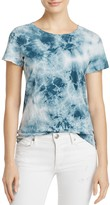 Alternative Distressed Tie-Dye Tee