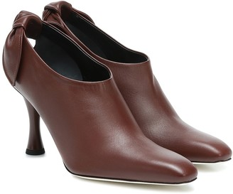 Proenza Schouler Exclusive to Mytheresa a leather ankle boots
