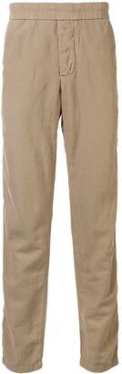 James Perse Elasticated-Waist Straight-Leg Trousers