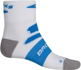 Brooks Infiniti Nightlife Socks - Quarter Crew (For Men and Women)