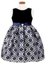 Sorbet Diamond Burnout Dress