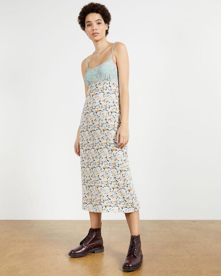 Ted Baker Print Midi Dress