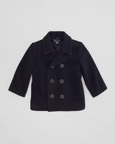 Ralph Lauren Naval Pea Coat, RL Navy, Sizes 4-7