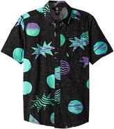 Volcom Cosmic Short Sleeve Shirt Boy's Short Sleeve Button Up