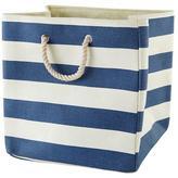 Baby Essentials Stripes Around the Floor Bin (Dk. Blue)
