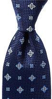 Daniel Cremieux Star Check Traditional Silk Tie