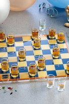 Jay Import Checkers Game & Shot Glass Set