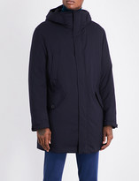 SLOWEAR Montedoro quilted wool-blend coat