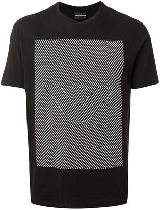 Emporio Armani illusional logo T-shirt