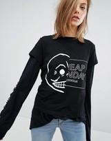 Cheap Monday Half Logo T-Shirt