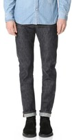Naked & Famous Denim Super Skinny Guy Fire Rooster Selvedge Jeans