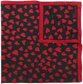 RED Valentino heart print scarf - women - Silk - One Size