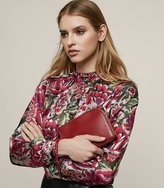 Reiss Ruth Floral Burnout Shirt