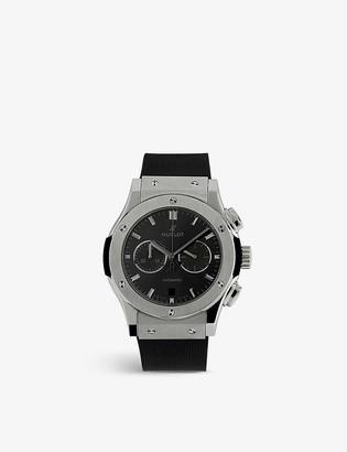 Hublot 541.NX.1171.LR Classic Fusion titanium and rubber automatic watch
