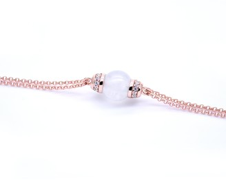 Jadeite Atelier Eden Bracelet In Ice White Jade