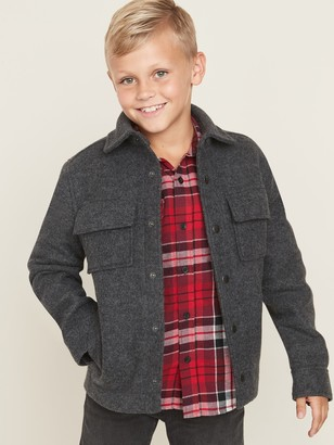 Old Navy Soft-Brushed Shirt Jacket for Boys