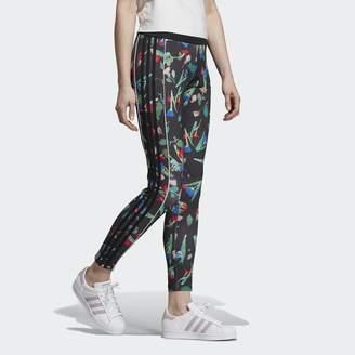 adidas 3-Stripe Printed Satin Leggings