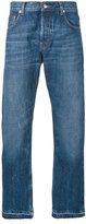 Alexander McQueen straight fit jeans - men - Cotton - 46