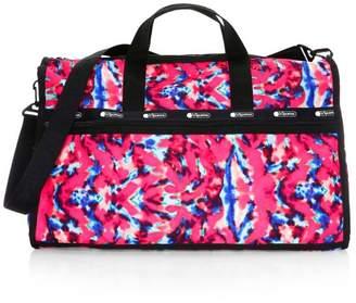 Le Sport Sac x Baron Von Fancy Classic Tie-Dye Weekender Bag