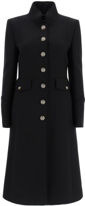 Dolce & Gabbana Wool Coat With Heraldic Buttons