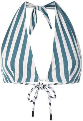OSKLEN Summer Stripe cropped top
