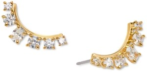 AVA NADRI Crystal East/West Stud Earrings