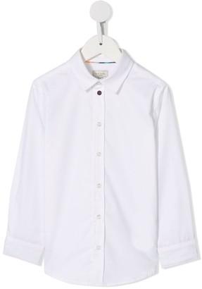 Paul Smith plain button shirt