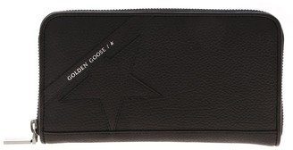 Golden Goose Star Large Zipped Wallet