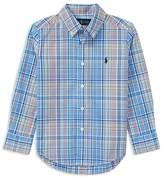 Polo Ralph Lauren Boys' Plaid Stretch Cotton Shirt - Little Kid