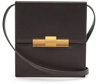 Bottega Veneta Daisey Leather Cross-body Bag - Womens - Black