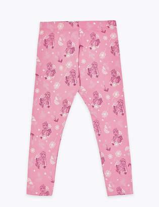 Marks and Spencer Disney Frozen 2 Cotton Patterned Leggings (2-10 Yrs)
