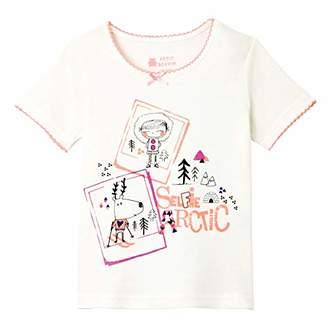 Camilla And Marc Selfie Artic Girls' Short-Sleeved T-Shirt - Size 2/3 Years (92/98 cm)