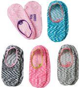 Pink Cookie Girls 5-pk. Marled Liner Socks