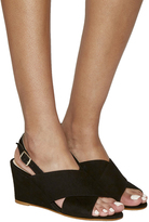 Office Megan Cross Strap Wedges