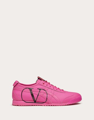 Valentino Garavani Uomo Onitsuka Tiger Collaboration Sneaker Man Florescent Orange 100% Pelle Di Vitello - Bos Taurus 6