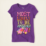 Children's Place Most amazing graphic tee