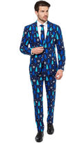 Asstd National Brand Holiday Blue Tree OppoSuits 3-pc Suit- Slim Fit