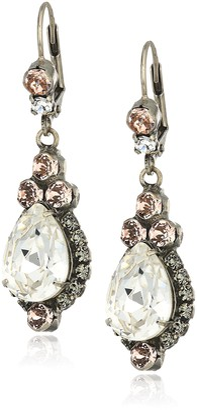Sorrelli Womens Snow Bunny Sweet Treats Drop Earrings