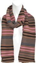Sonia Rykiel Striped wool scarf 30x170