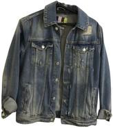 MSGM Blue Denim - Jeans Leather jackets