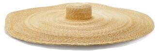 BEIGE Eliurpi - Le Grand Oversized Natural Straw Hat - Womens