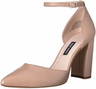 Nine West Women's AILAMINA Leather Heeled Sandal